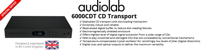 Audiolab 6000CDT Dedicated CD Transport